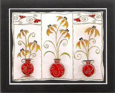 Devotion in Motion: Three Vases