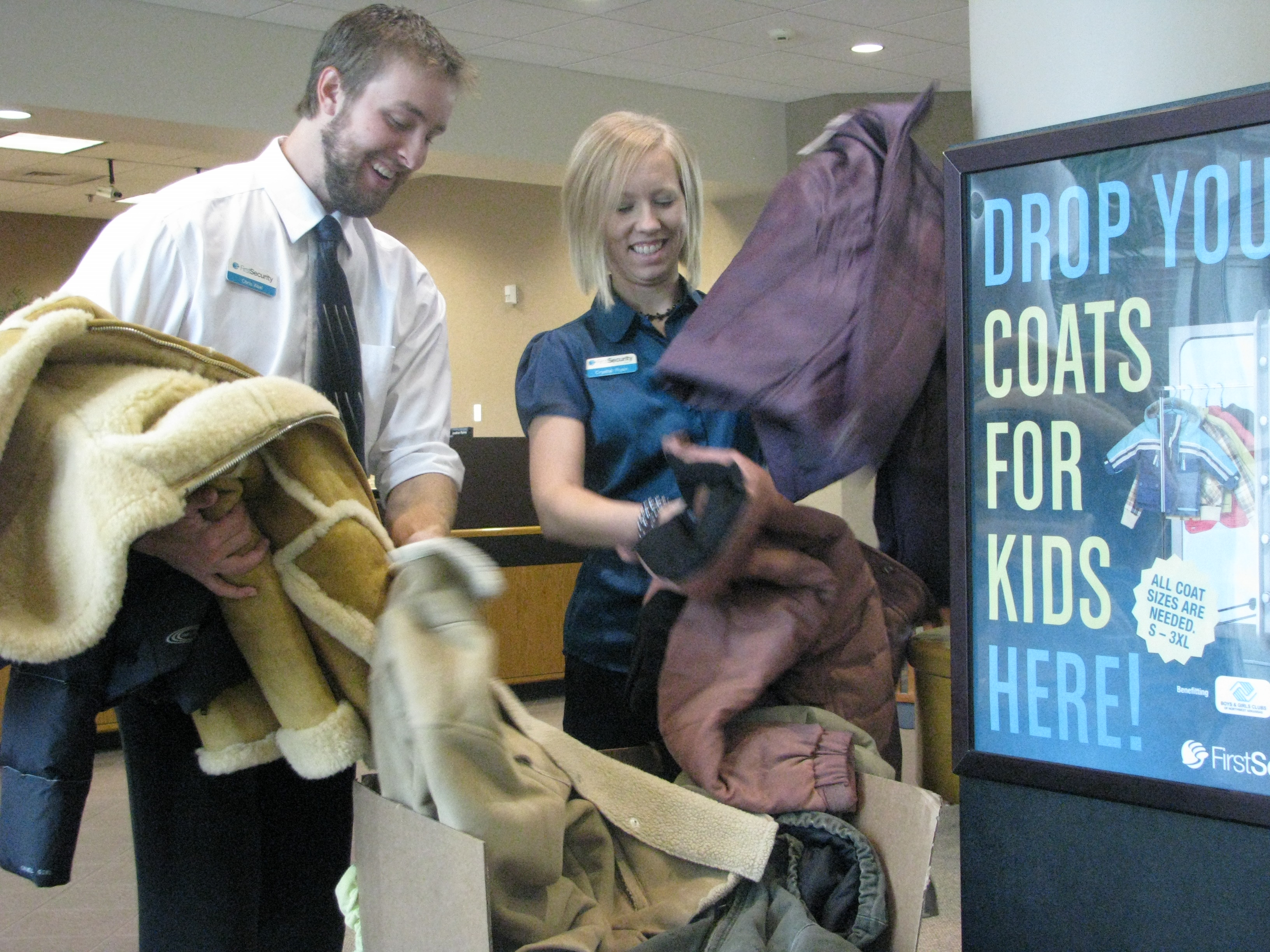 Got outgrown coats? Donate them to kids in need