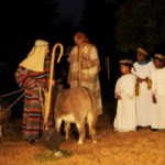 Living nativity in Fayetteville