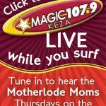 Mamas talk about multi-tasking on Magic 107.9 Thursdays!