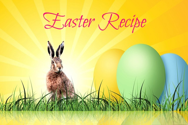 easter hare and eggs, recipe