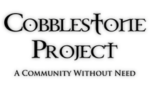 Volunteer Opportunity: The Cobblestone Project