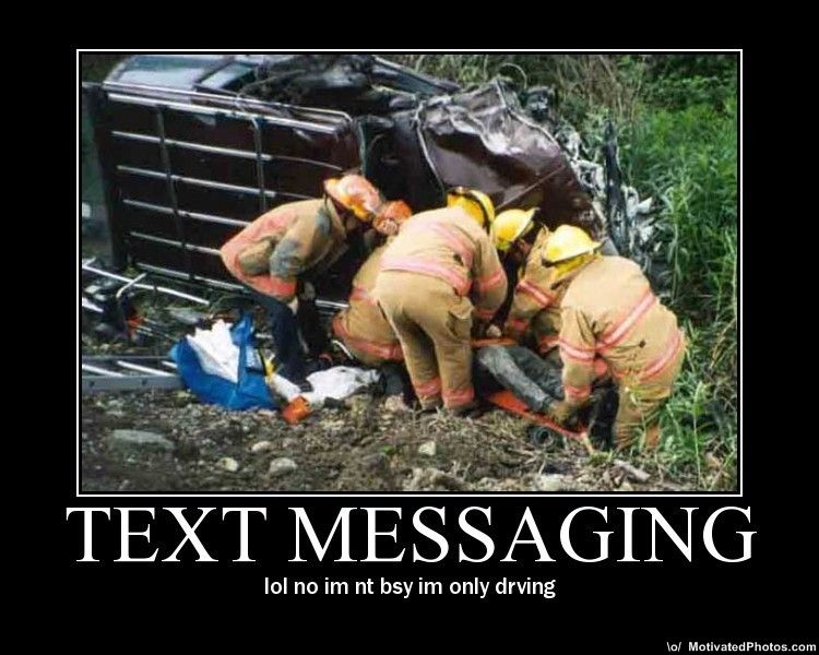texting and driving accidents. safe while you#39;re driving.