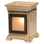 Awesome idea: A Scentsy Warmer with glowing photo!