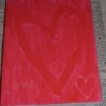 Crafty Mama: Show your love with an easy painted canvas