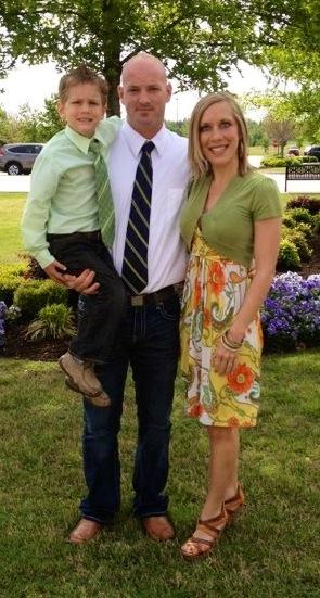 Amy Hickman family