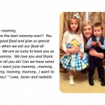 Honor your mom with a Mother's Day message!