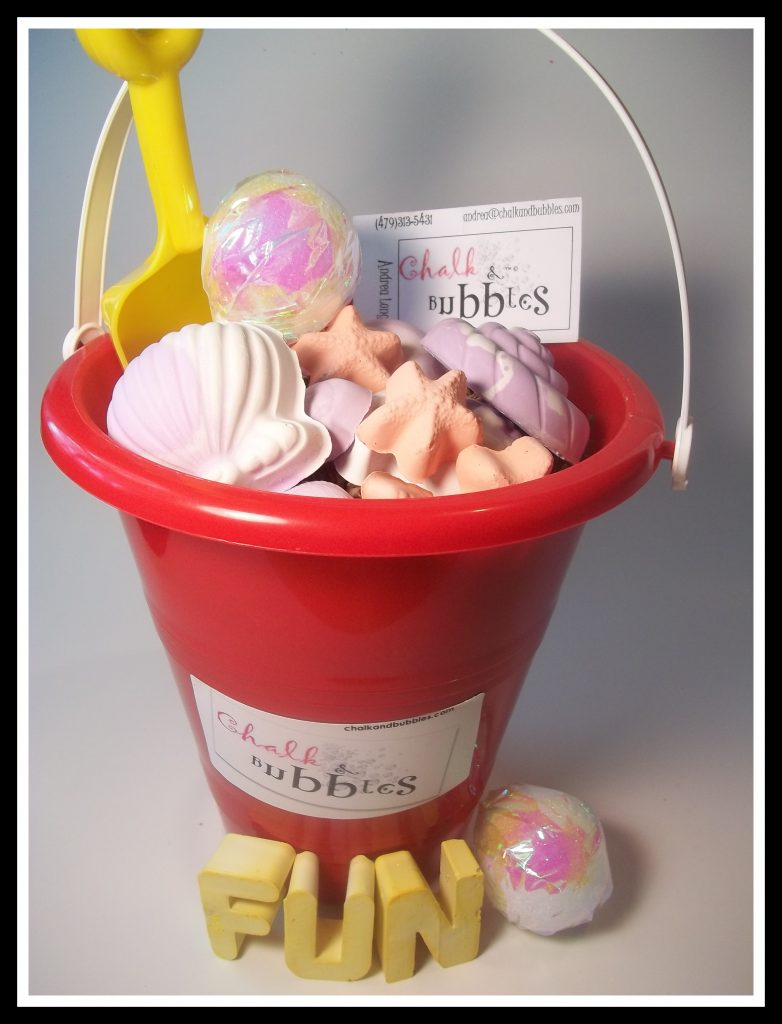 "Giveaway: TWO pails full of ""Chalk & Bubbles"" to kick off summer vacation!"