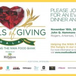 Northwest Arkansas Food Bank's 'Jewels of Giving' Gala on Nov. 16