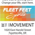 Sale on sports bras this weekend at Fleet Feet in Fayetteville