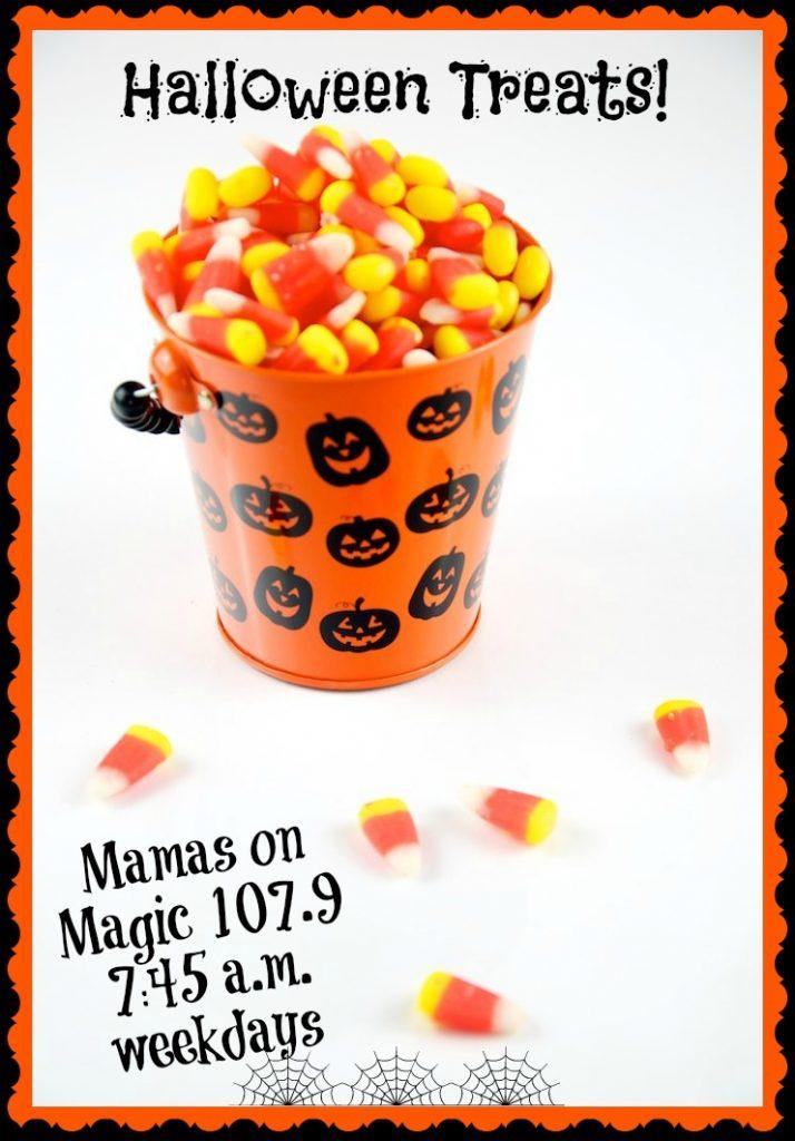 Mamas on Magic 107.9: Pop Quiz on Halloween Treats!