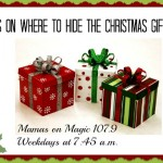 Mamas on Magic 107.9: Genius ideas for hiding Christmas gifts
