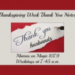 Mamas on Magic 107.9: Thank you notes to our husbands + big sales!