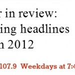 Mamas on Magic 107.9: Top Parenting Headlines of 2012