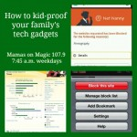 Mamas on Magic 107.9: How to kid-proof technology