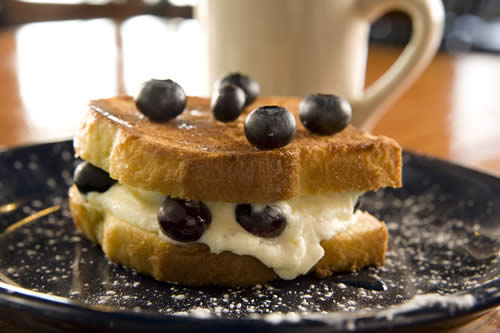 blueberry grilled cheese