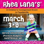 Giveaway: $100 shopping spree at Rhea Lana's!