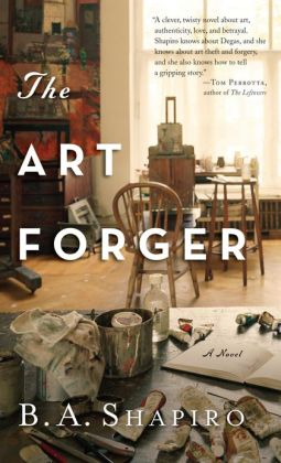 book, art forger
