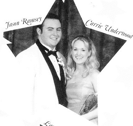 Carrie Underwood Senior Year 2001 Checotah High School, Checotah, OK Prom Credit: Seth Poppel/Yearbook Library