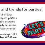 Party planning tips and trends