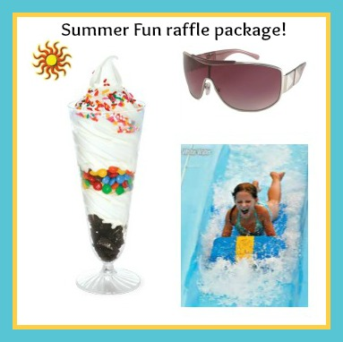 raffle summer fun pkg