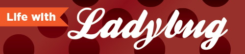 Life with Ladybug logo
