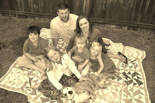 Gretchen Speer's family, resized