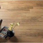Wood floor looks with tile practicality