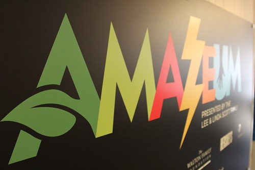 Amazeum Press Conference, logo