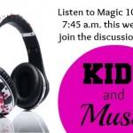 Kids and music: Good kids, bad lyrics?