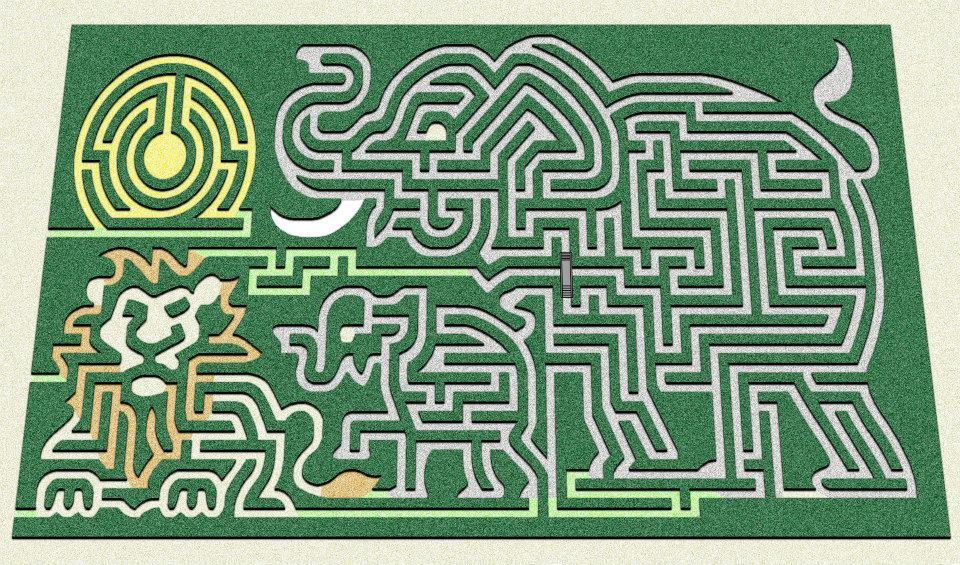 Farmland adventures, new maze