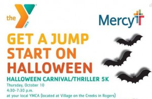 YMCA halloween event