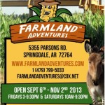 NWA's Farmland Adventures has a new maze, new animals and offers a great family outing!