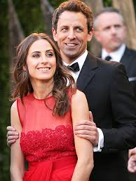 seth meyers and fiance 2013