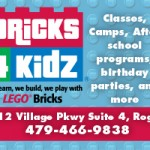 Bricks 4 Kidz has moved to Village on the Creeks!