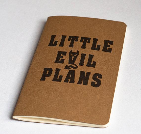evil plans book