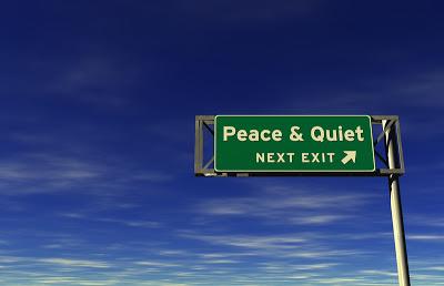 peace & quiet exit