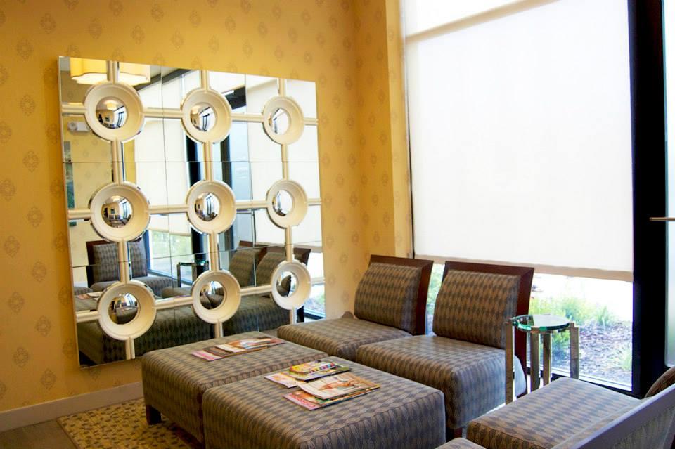 Beautiful Revive waiting room