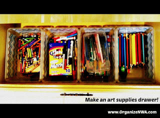 Holly art supply drawer