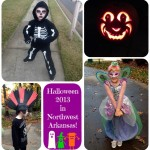 Halloween snapshots of kids in Northwest Arkansas