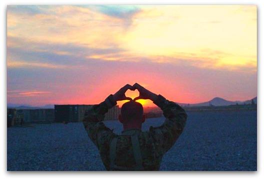 military mama heart