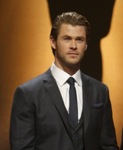 chris hemsworth 2014