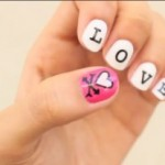 Video: Give yourself a Valentine's Day manicure!