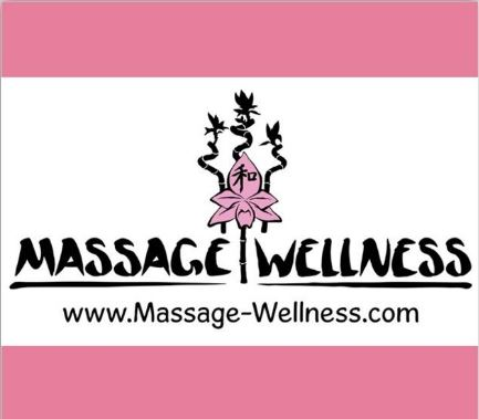 massage wellness logo use