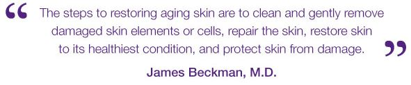 theraderm quote, Dr. Beckman