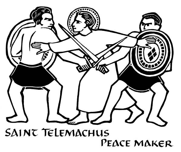 St. Telemachus Peace Maker