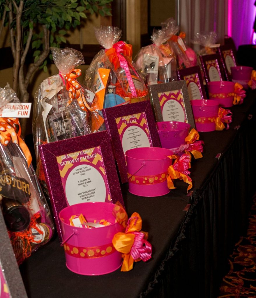 raffle package table