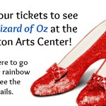 Giveaway: Tickets to The Wizard of Oz at Walton Arts Center