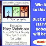 Giveaway: Win tickets to hear Duck Dynasty star Missy Robertson speak!