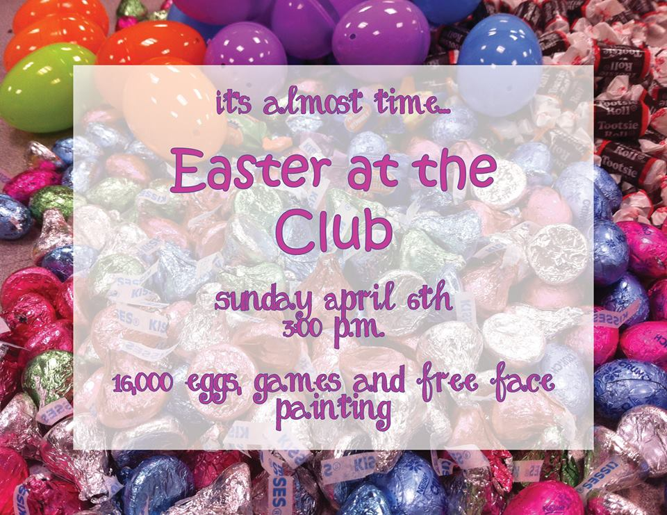 easter at the club